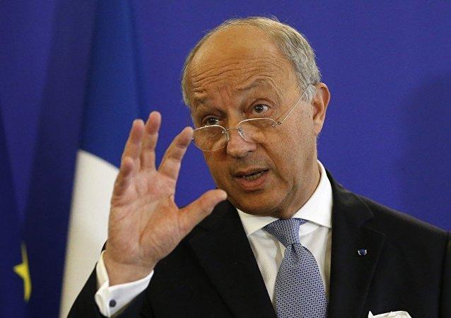 Fransa Dışişleri Bakanı Laurent Fabius