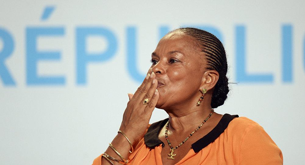 Eski Fransa Adalet Bakanı Christiane Taubira
