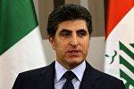 Irak Kürdistan Bölgesel Yönetimi Başbakanı Neçirvan Barzani
