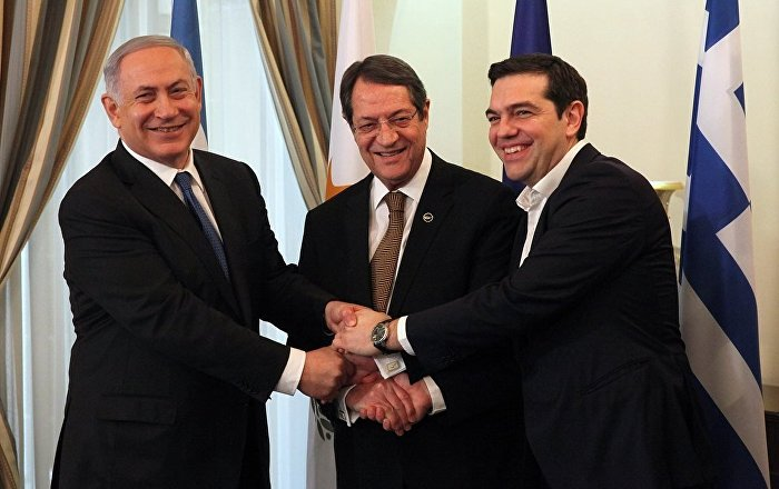 İsrail, Yunanistan ve Rum Yönetiminden doğalgaz zirvesi