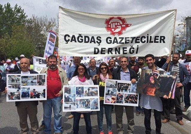 Çağdaş Gazeteciler Derneği - basın özgürlüğü