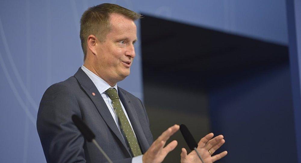 İsveç İçişleri Bakanı Anders Ygeman