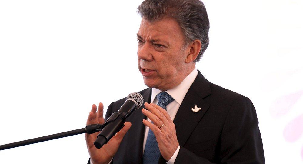 Kolombiya Devlet Başkanı Juan Manuel Santos