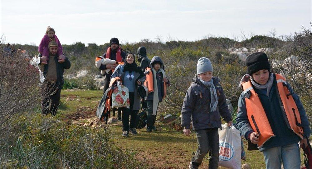 Aydın'da 42 Suriyeli sığınmacı yakalandı.