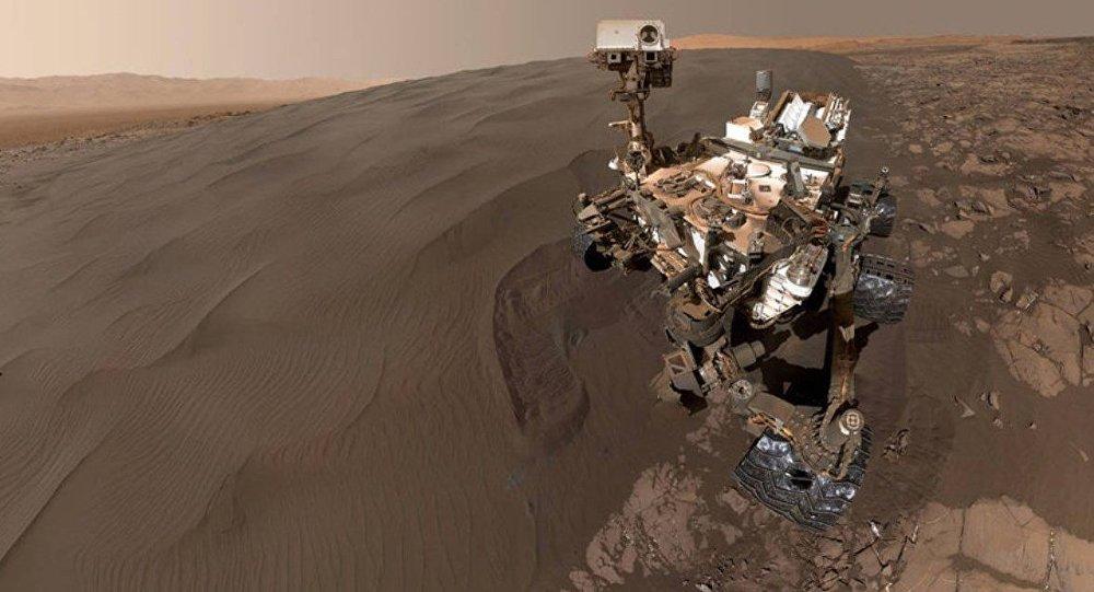 NASA'dan büyüleyici panoramik Mars görüntüsü