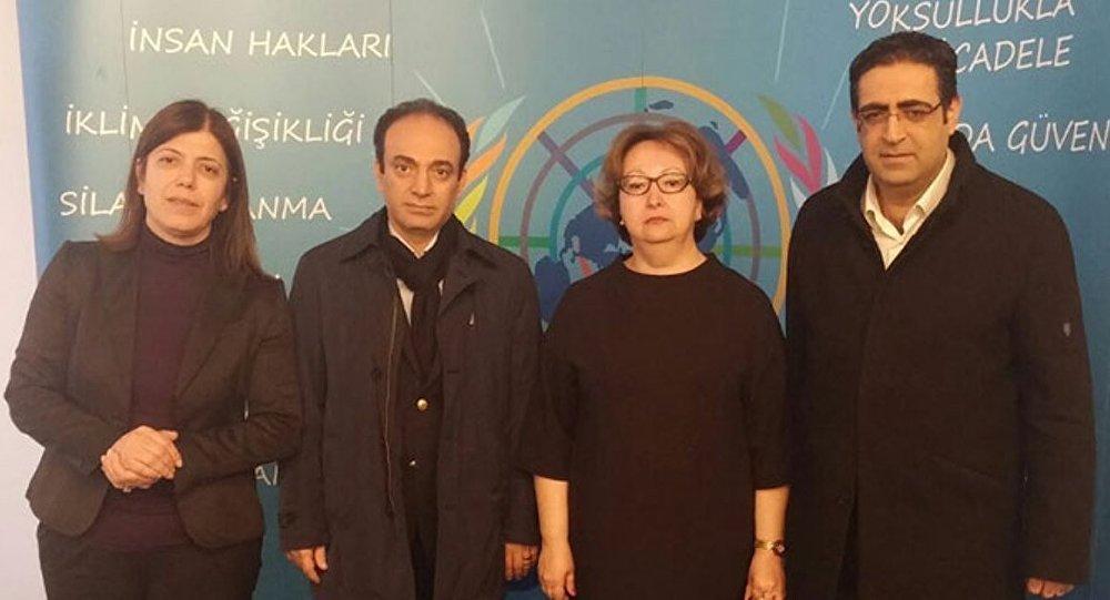 Açlık grevindeki HDP heyeti