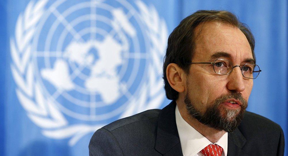 Birleşmiş Milletler İnsan Hakları Yüksek Komiseri Zeid Ra'ad el Hüseyin