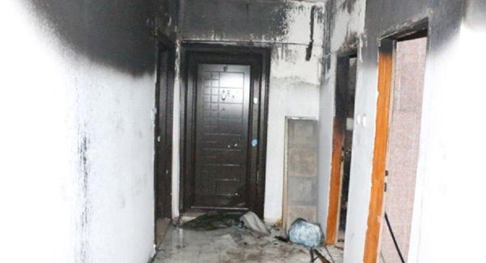 HDP Antalya yangın