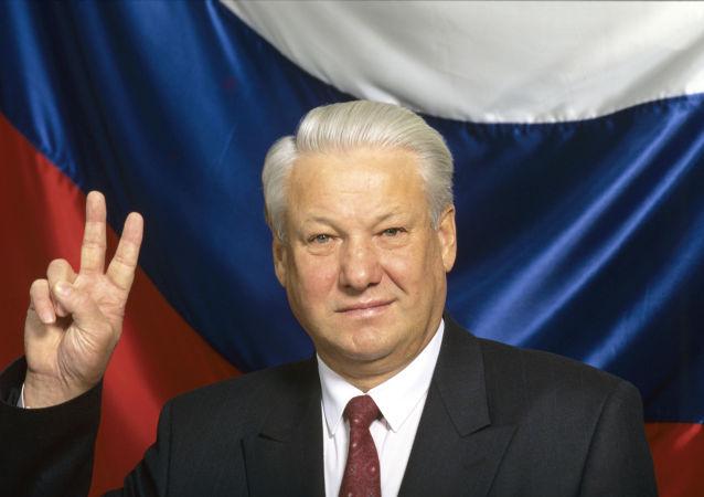 Rusya Federasyonu'nın ilk Devlet Başkanı Boris Yeltsin, 1991 yılı.