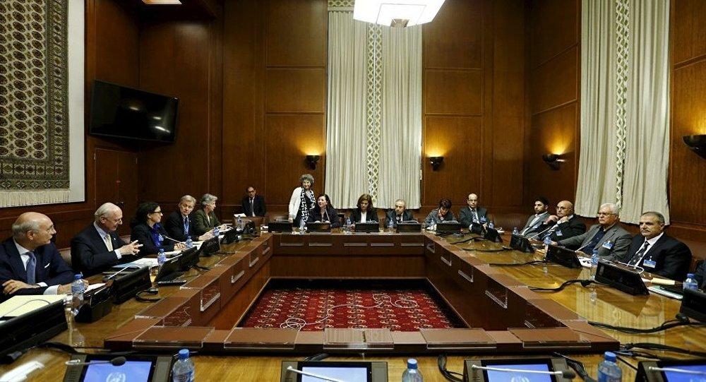 Cenevre'deki Suriye görüşmeleri