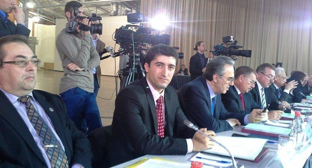 Rusya Kürtleri Ulusal ve Kültürel Federal Otonomisi Konseyi lideri Ferhat Patiyev
