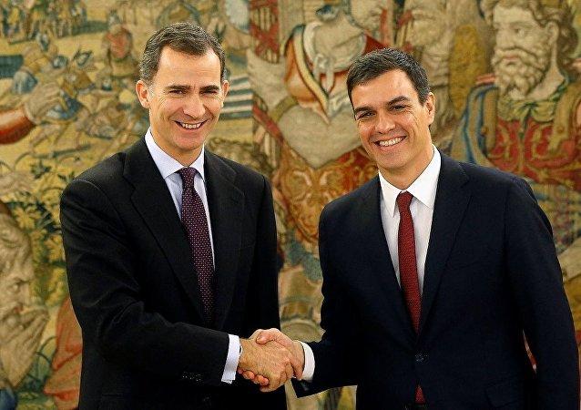 İspanya Kralı 6. Felipe- PSOE lideri Pedro Sanchez