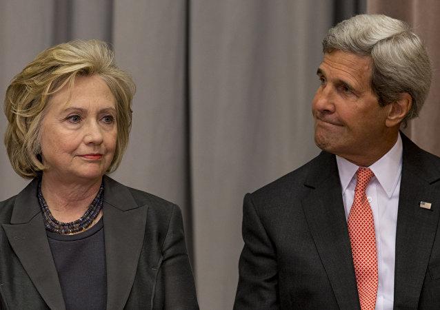 John Kerry - Hillary Clinton
