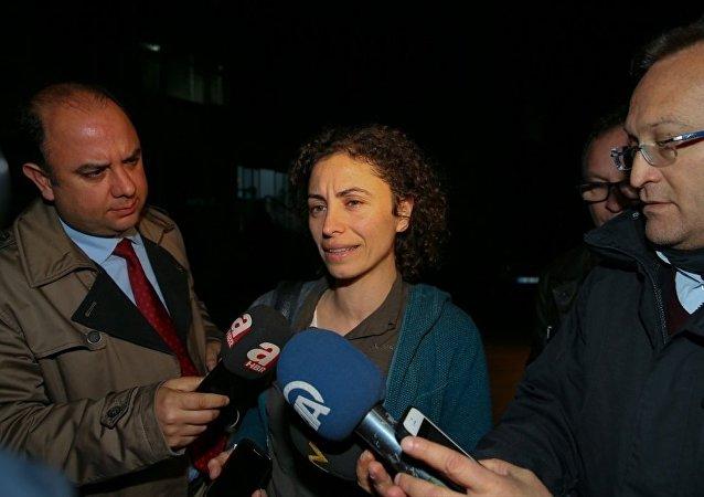 Aydın'da yakalanan terör örgütü DHKP/C üyesi İbrahim Akkol ile Fadik Adıyaman'ın avukatı Oya Aslan