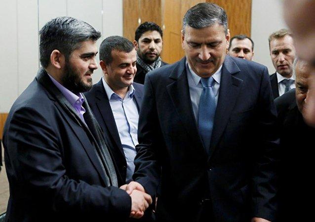 Yüksek Müzakere Komitesi (YMK) Başkanı Riyad Hicab