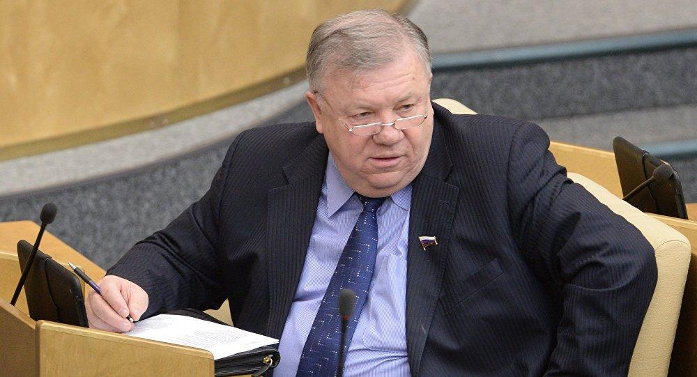 Rusya Devlet Duması Savunma Komitesi Başkanı Vladimir Komoyedov