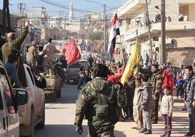 Suriye ordusu, Halep kentindeki Zehra ve Nubul kasabalarında kuşatmayı kırdı.