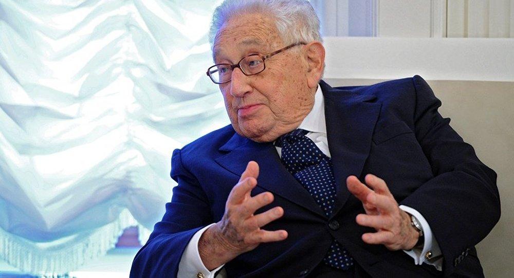 ABD eski Dışişleri Bakanı Henry Kissinger