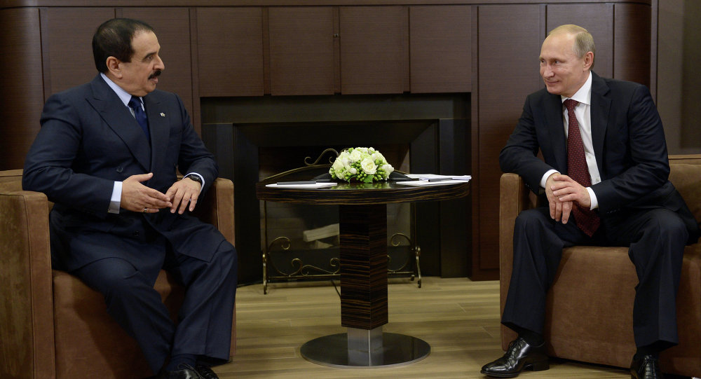 Vladimir Putin ve Bahreyn KralıHamad bin Isa El Halife