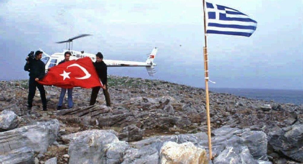 Türkiye - Yunanistan Kardak krizi