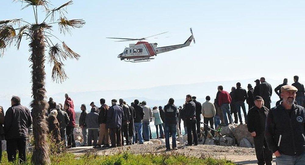 Edremit'te göçmen faciası