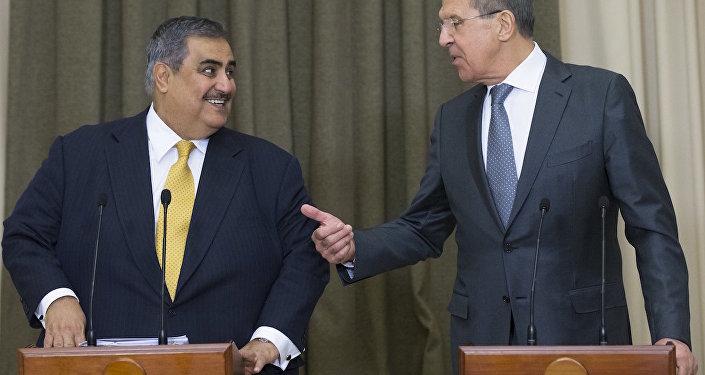 Bahreyn Dışişleri Bakanı Halid bin Ahmed El Halife, Rusya Dışişleri Bakanı Sergey Lavrov ile görüştü