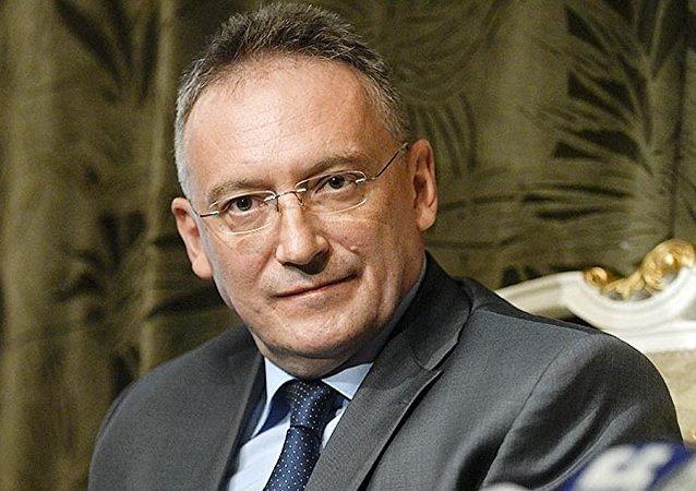 Rusya'nın Şam Büyükelçisi Aleksandr Kinşak