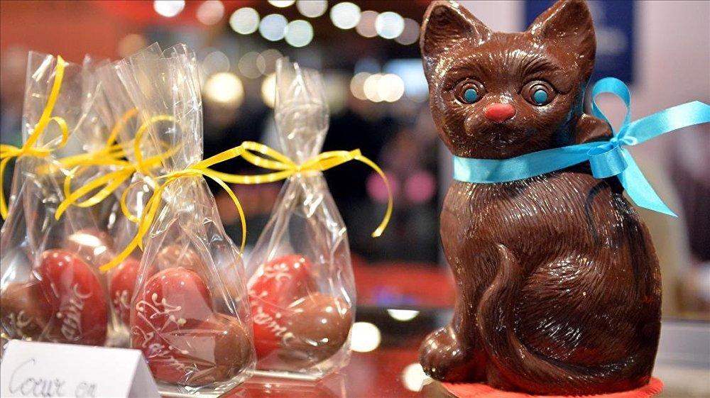 Brüksel'de çikolata fuarı