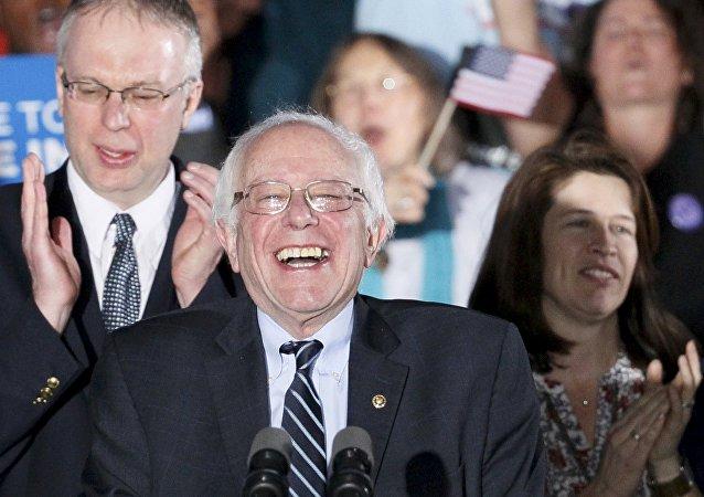ABD'de başkan aday adayı Bernie Sanders