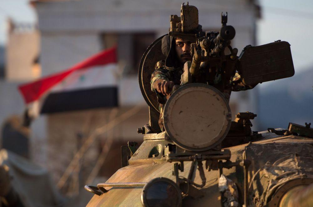 Suriye ordusu Keseb'te