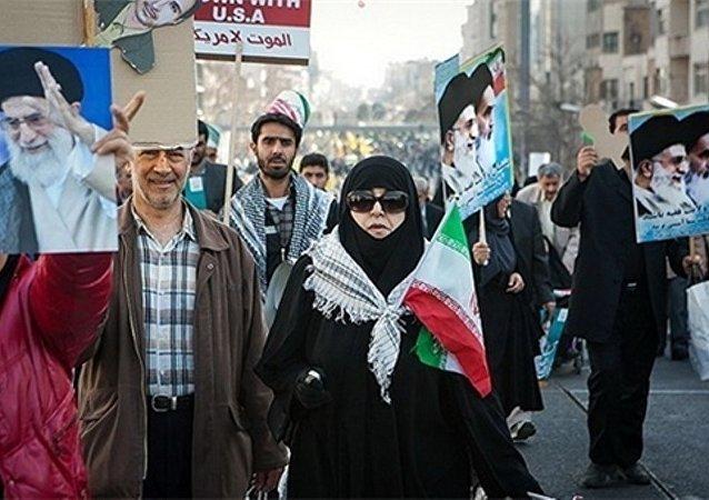 İran'da İslam Devrimi'nin 37'nci yılı kutlandı
