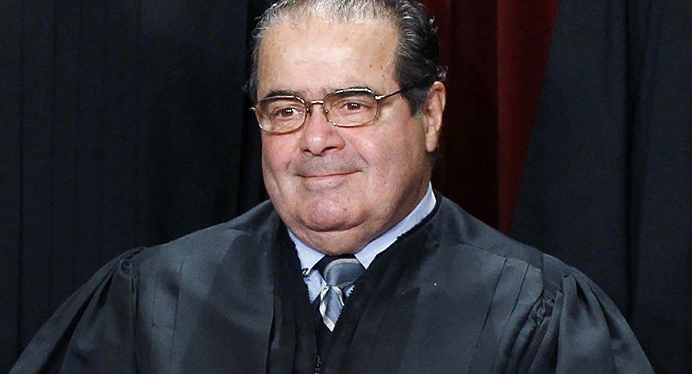 ABD Yüksek Mahkemesi üyesi Antonin Scalia