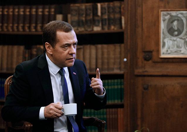 Rusya Başbakanı Dimitriy Medvedev