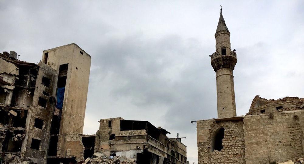 Halep Eski Şehir, sokaklarından biri.