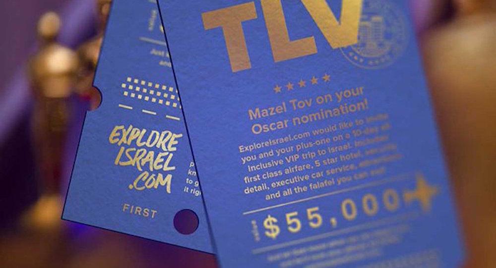 Oscar adaylarına 55 bin dolarlık İsrail gezisi