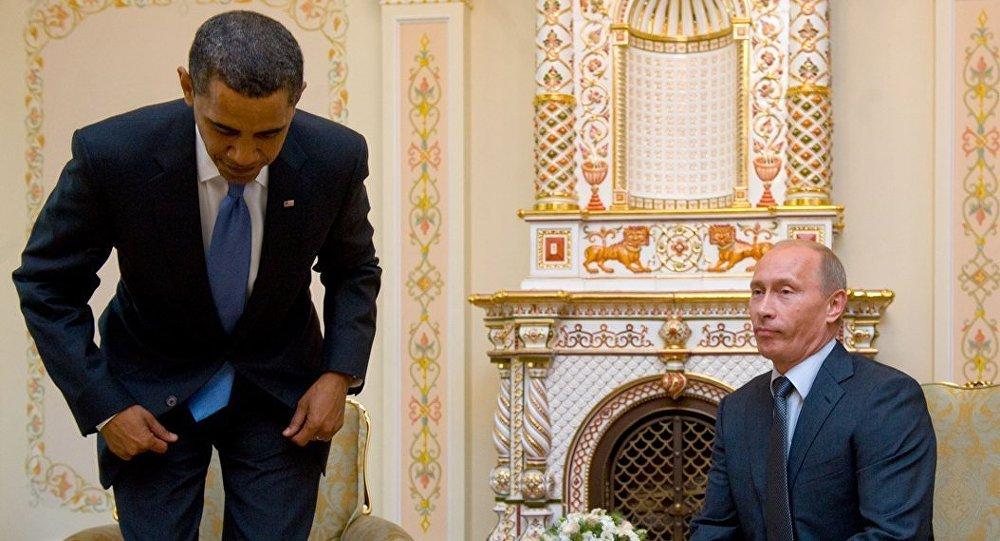 Barack Obama - Vladimir Putin