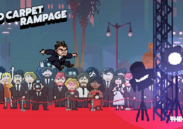 İngiliz The Line animasyon stüdyosu DiCaprio'nun Oscar'ı yakalamaya çalıştığı bir oyun geliştirdi.