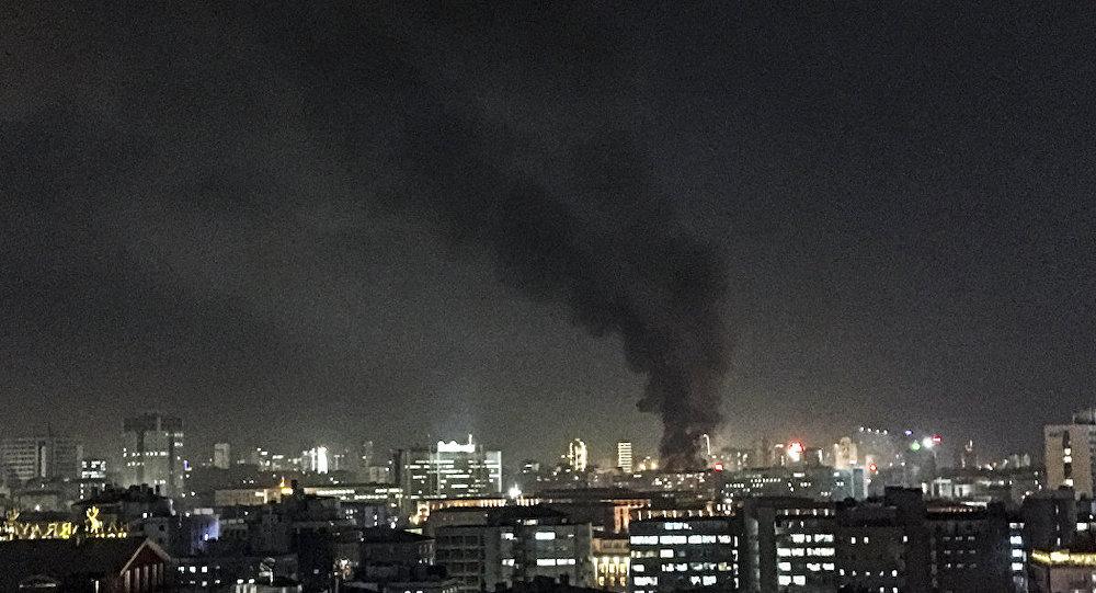 Ankara'daki patlamanın ardından dumanlar kentin her yerinden görüldü
