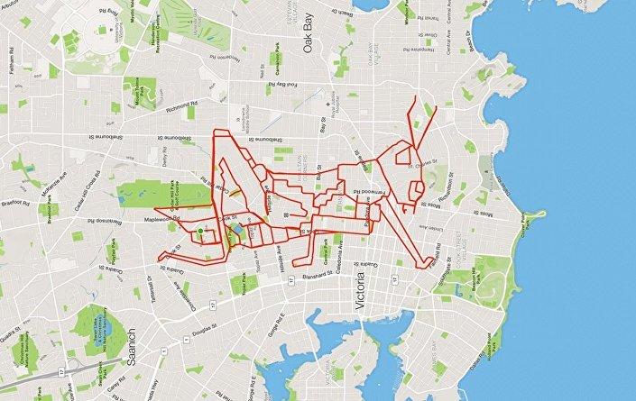 Kanadalı bisikletçi Stephen Lund'un eserleri