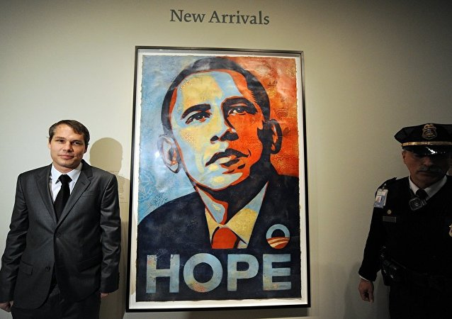 Shepard Fairey- Barack Obama