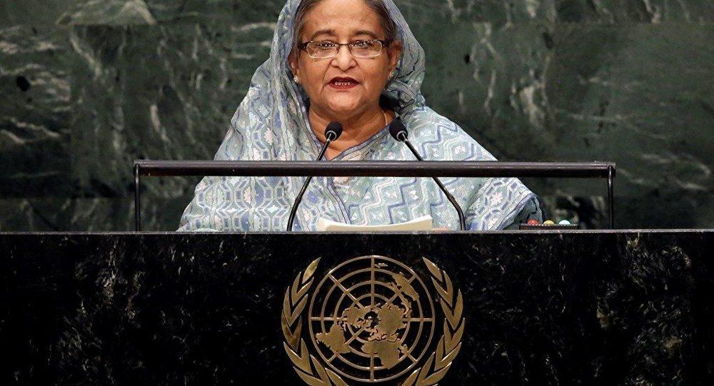 Bangladeş Başbakanı Şeyh Hasina Vezid