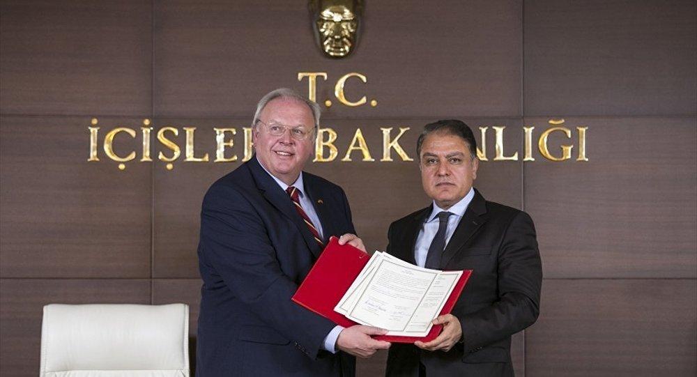Türkiye ve Almanya arasında işbirliği anlaşması