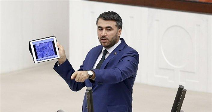 AK Parti Adana Milletvekili Mehmet Şükrü Erdinç, TBMM Genel Kurul çalışmalarına katılarak konuşma yaptı.