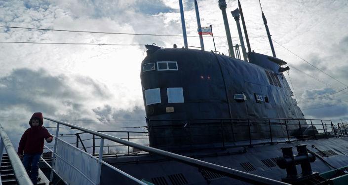 Dünya Okyanus Müzesi'nde B-413 denizaltısı