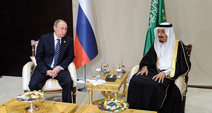 Rusya Devlet Başkanı Vladimir Putin - Suudi Arabistan Kralı Selman bin Abdülaziz el Suud