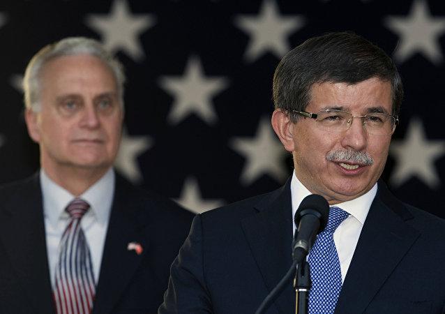 Francis Ricciardone - Ahmet Davutoğlu