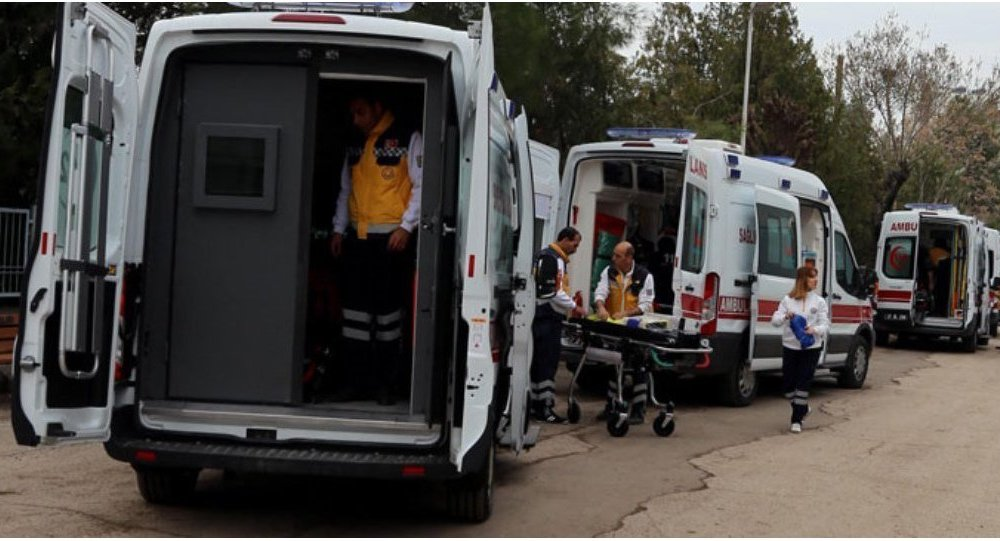 Diyarbakır'a zırhlı ambulans gönderildi.