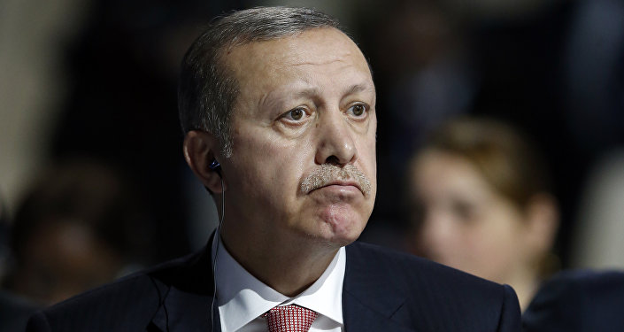 Türkiye Cumhurbaşkanı Recep Tayyip Erdoğan, Paris'teki COP21 konferansında. (30 Kasım 2015)