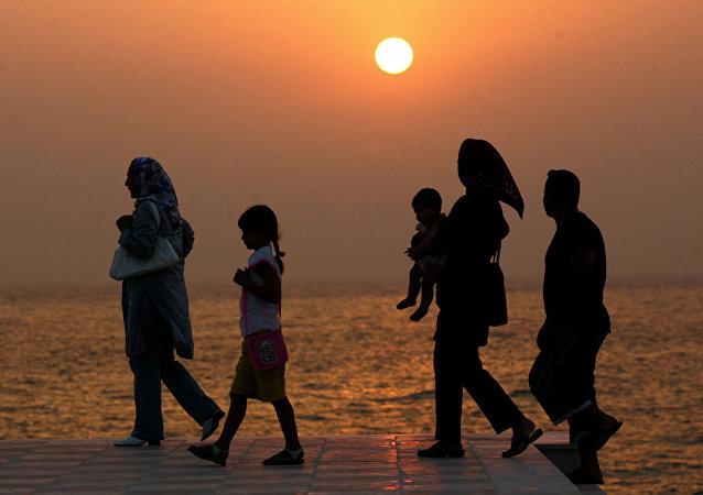 İran'ın önde gelen turistik bölgelerinden Kiş Adası