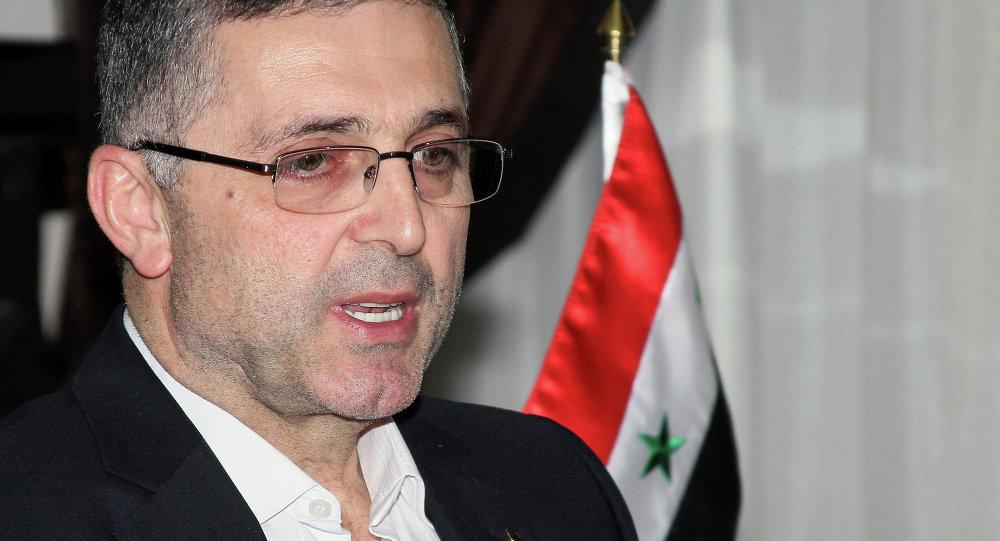 Suriye Ulusal Uzlaşma Bakanı Ali Haydar